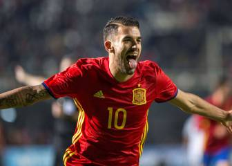 Ceballos knocks on Zidane's door with Under-21 hat-trick