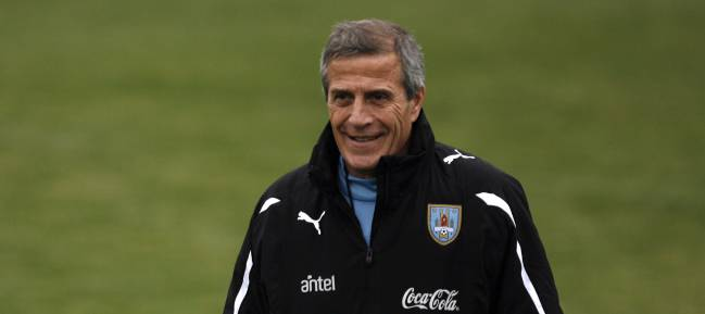 Óscar Washington Tabárez, Uruguay coach