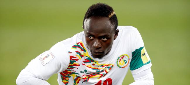 Sadio Mané, the star of the Senegal team