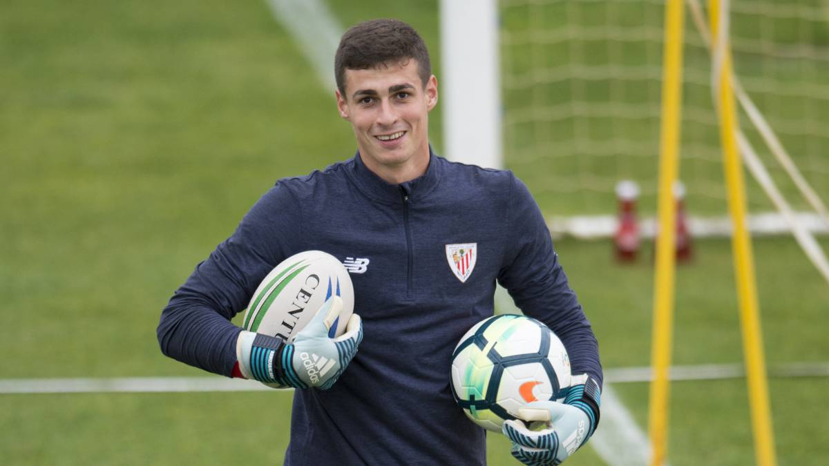 Athletic's Kepa Arrizabalaga closer than ever to Real Madrid