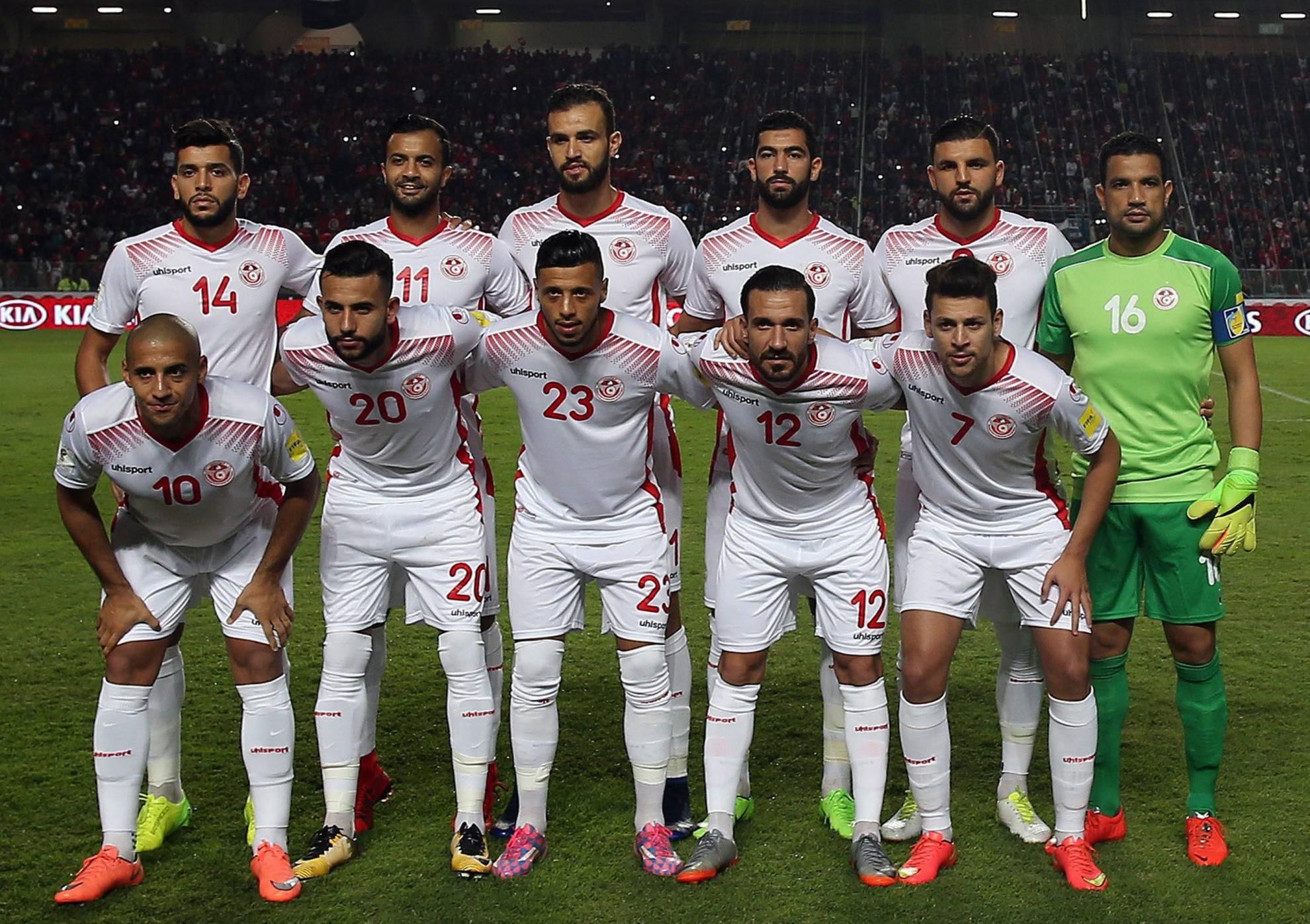 Resultado de imagen para selección de fútbol Túnez Copa Mundial 2018