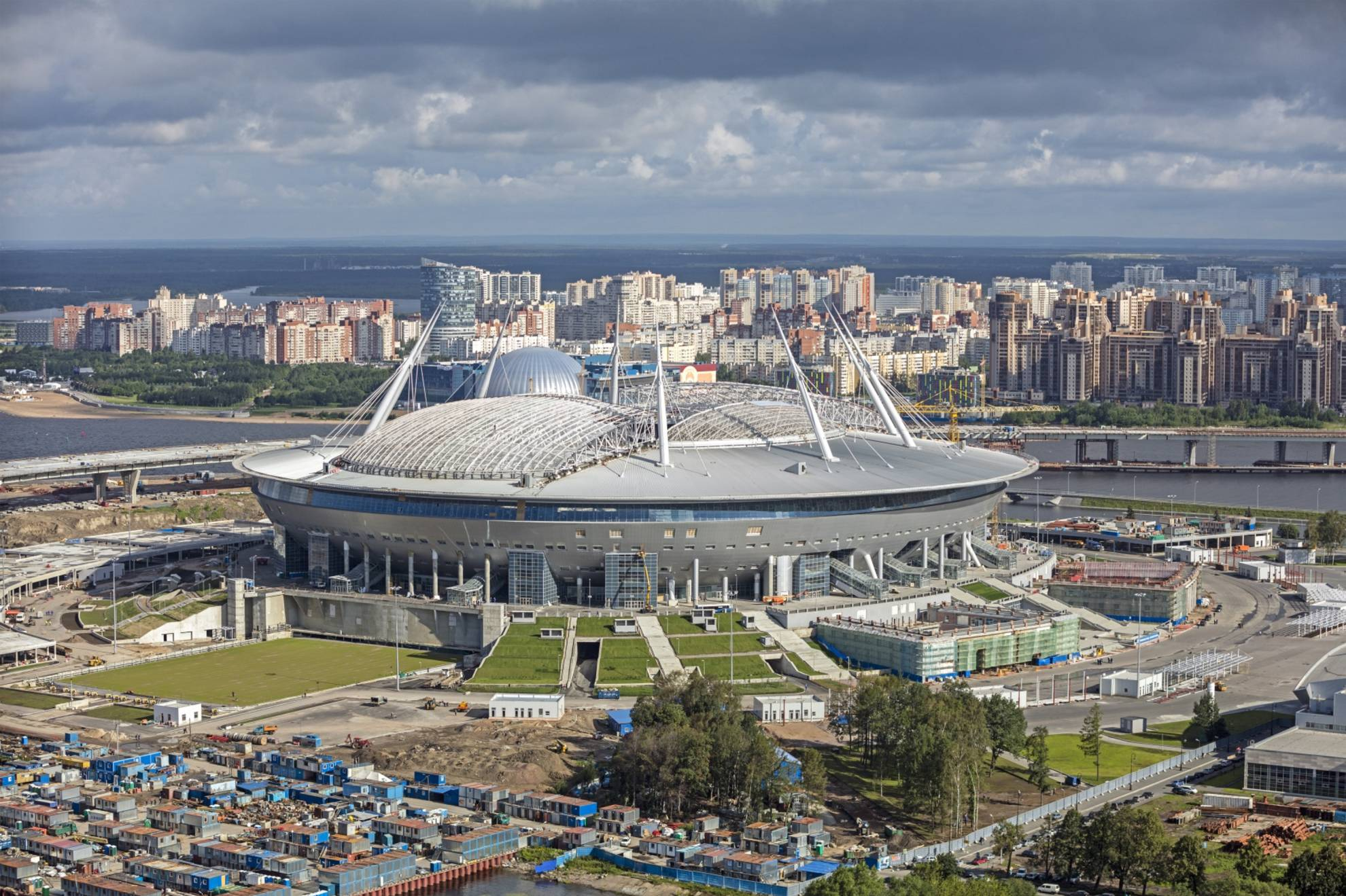 Estadio de San Petersburgo