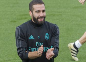 Dani Carvajal and Luka Modric passed fit for the Madrid derby