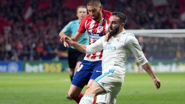 Dani Carvajal, lateral del Real Madrid.