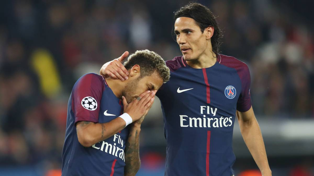 Cavani concedes as Neymar is now official PSG penalty taker