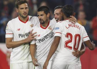 Sevilla post first comeback and eighth win by the minimum