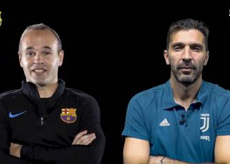 Iniesta and Buffon say they are not afraid of retirement in face-to-face chat