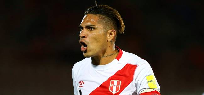 Paolo Guerrero, the star of the Peru team
