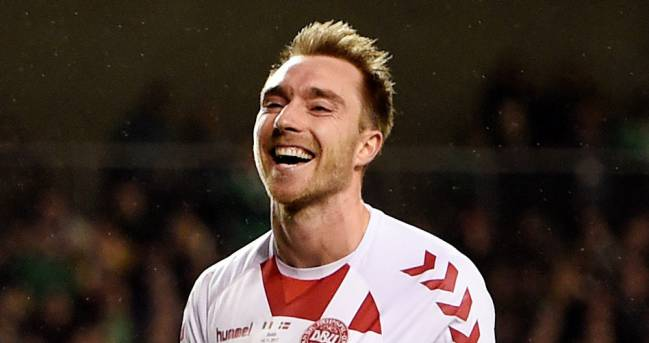 Christian Eriksen, the star of the Denmark team