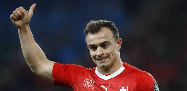 Xherdan Shaqiri, the star of the Switzerland team