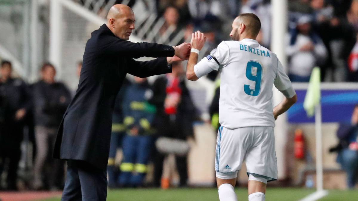 "Zidane: ""We knew the hard times would pass for Ronaldo and Benzema"""