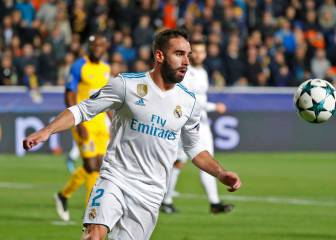 Uefa investigate Real Madrid's Dani Carvajal for forced yellow