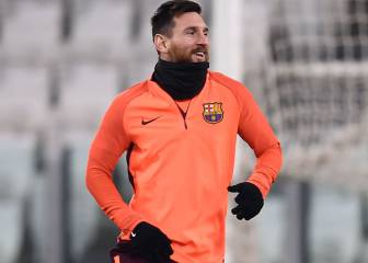 Messi and Valverde agreed the striker would be benched in Turin