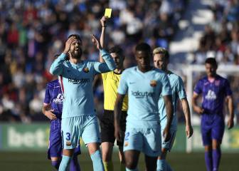 Piqué out of Valencia clash as yellow card ban upheld