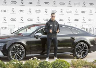 Which Audi model will each Real Madrid player drive?