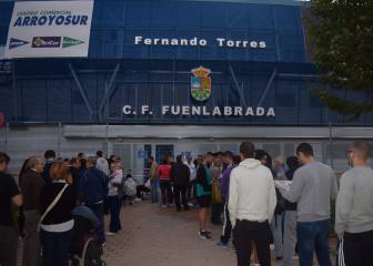 Fuenlabrada fans swallow up Real Madrid return leg tickets