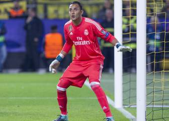 Keylor Navas up for Concacaf player of the year award