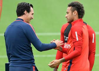 Neymar and Emery are on the same page, to PSG's relief