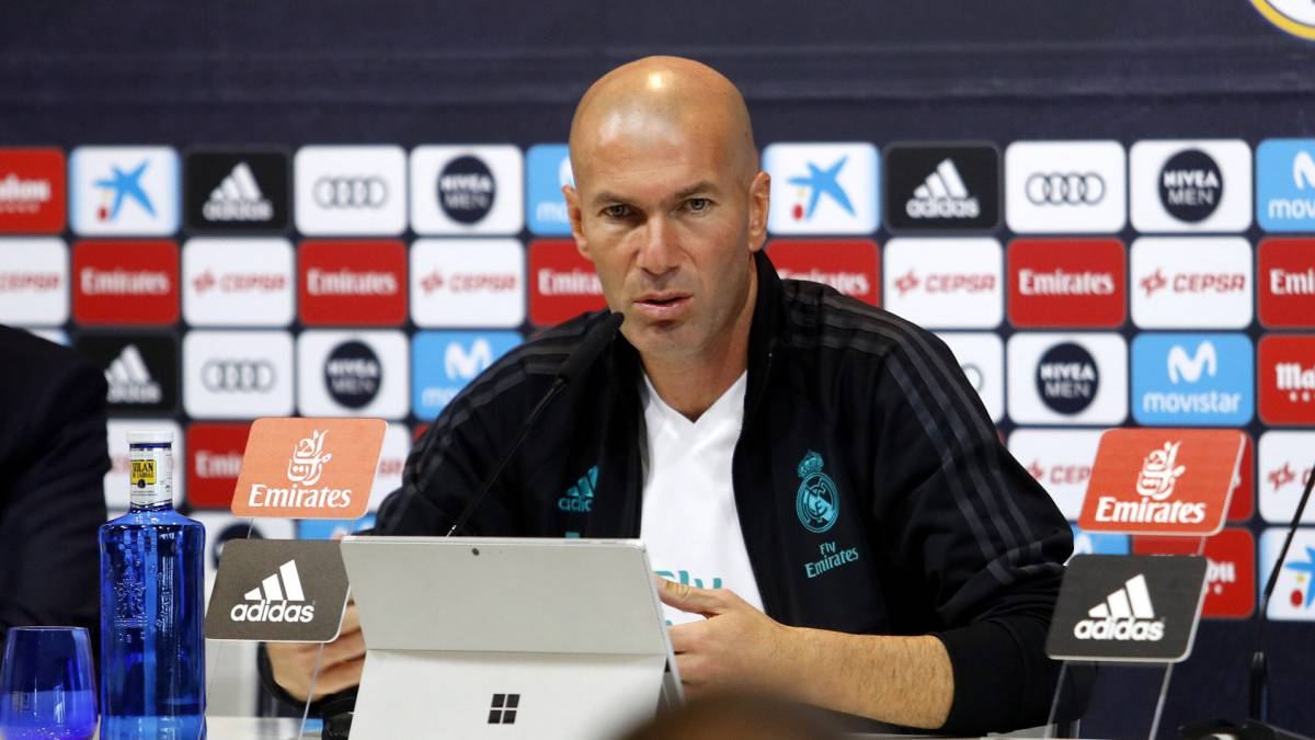 "Zidane: ""I've missed Bale. I wish he was back with us"""