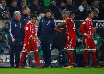 Bayern Munich beaten at Borussia Mönchengladbach