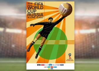 Goalkeeping great Yashin stars in 2018 FIFA World Cup poster