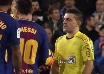 Barça reactions to Messi's goal against Valencia