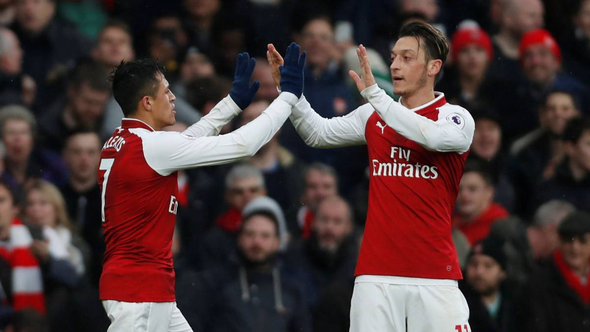 Wenger insists Alexis and Özil will stay at Arsenal despite interest from Madrid and Barça
