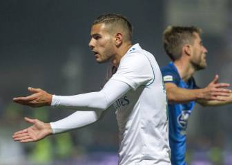 Theo Hernández gave the ball away 13 times in Fuenlabrada draw
