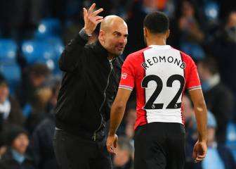 Guardiola y el incidente con Redmond: