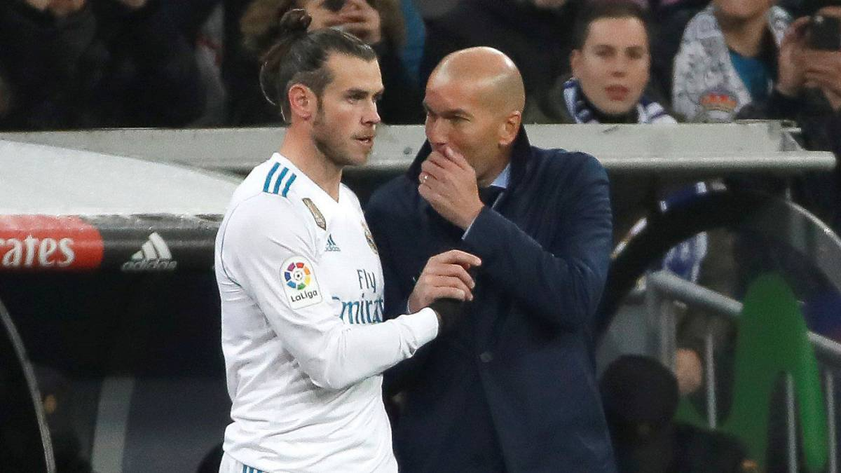 Zinedine Zidane on Gareth Bale: I don't know when he'll be back