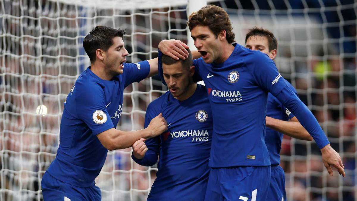 Hazard and Morata make light work of Benitez' Newcastle