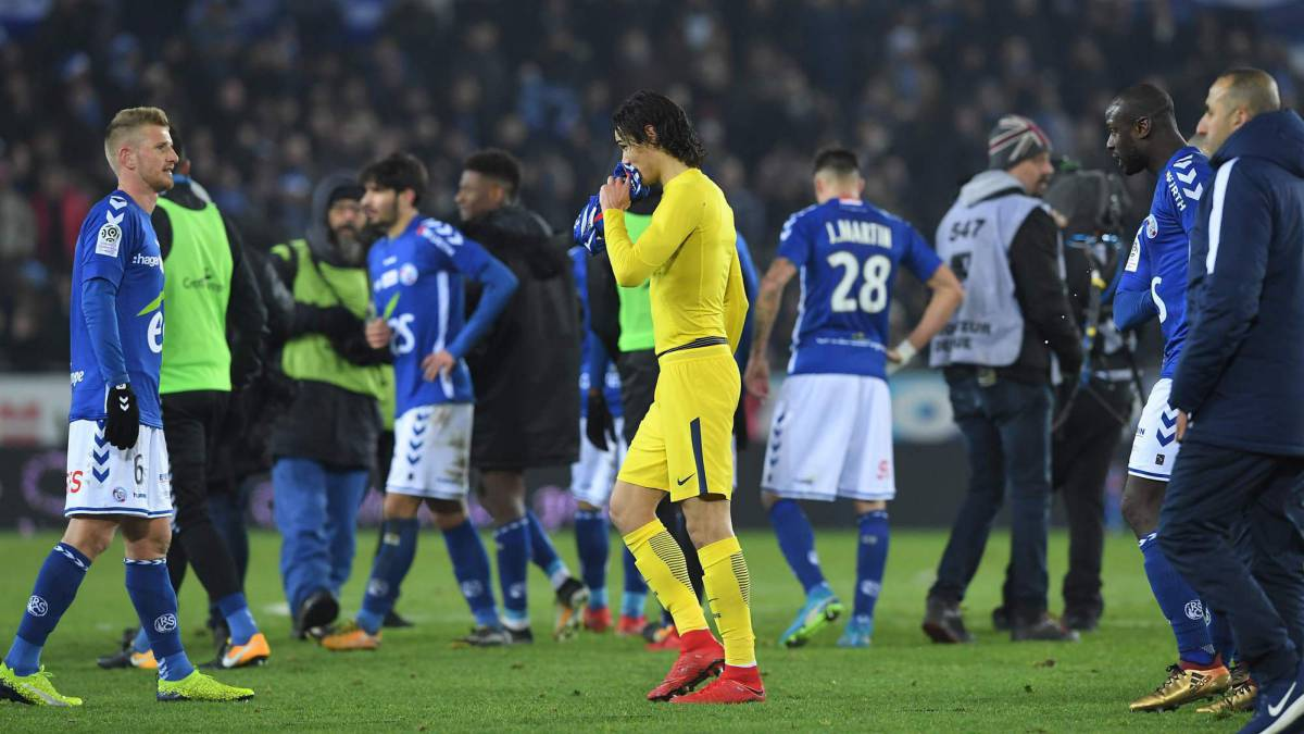PSG shocked by Strasbourg and lose first game of season