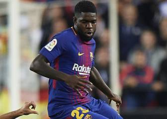 Confirmed: Umtiti out until the New Year with hamstring injury
