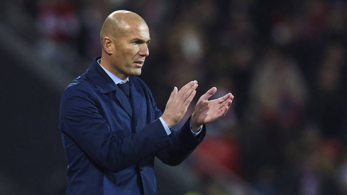 Zidane says Real Madrid not worse, just lacking that goal