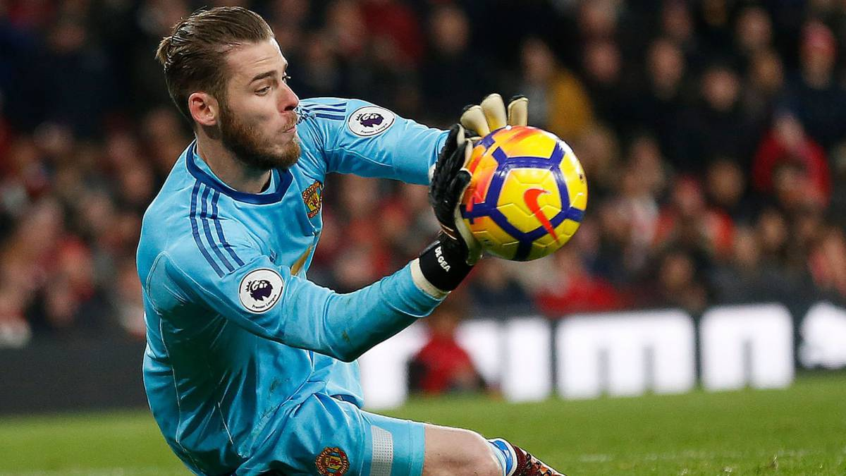 Dave saves, again and again... De Gea equals Tim Krul's record