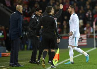 Sergio Ramos' red card record makes grim reading