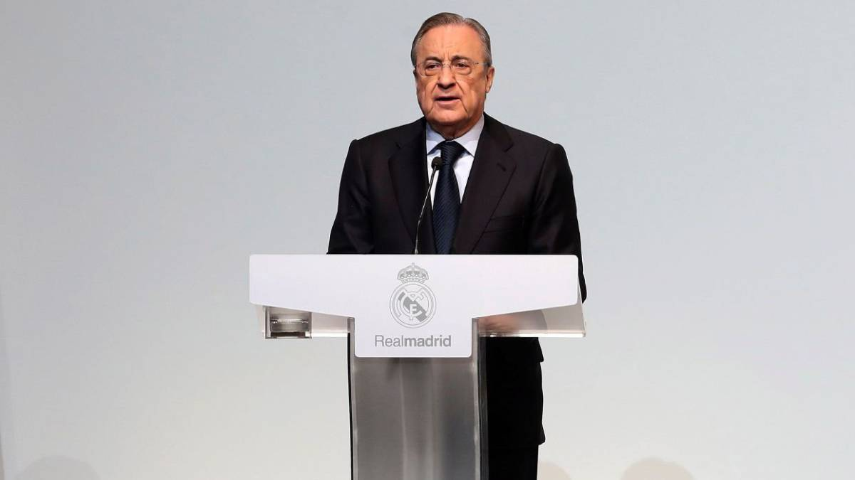 "Florentino Pérez: ""We have a team to keep dreaming"""