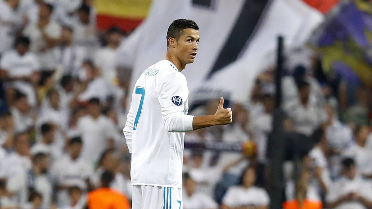 Real Madrid's Cristiano Ronaldo after Champions League records