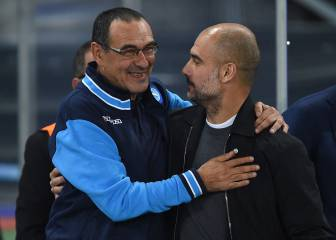 Guardiola envía un SMS a Sarri para que no dude del City