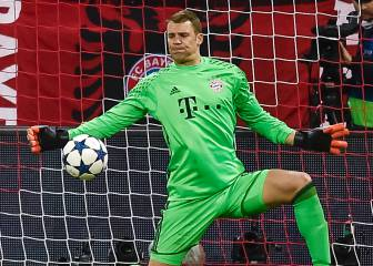 Neuer voted best keeper in the world by France Football