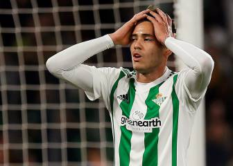 Problems for Betis as Sanabria could miss rest of the season