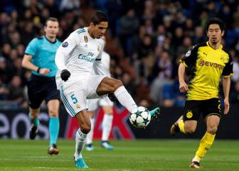 Raphael Varane injury leaves Real Madrid bare in defence
