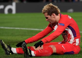 Antoine Griezmann injured in draw at Stamford Bridge