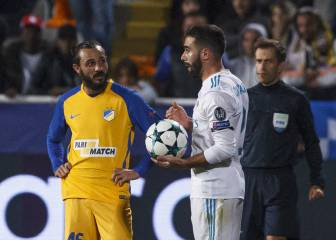 Dani Carvajal suspended for Champions League last 16 opener