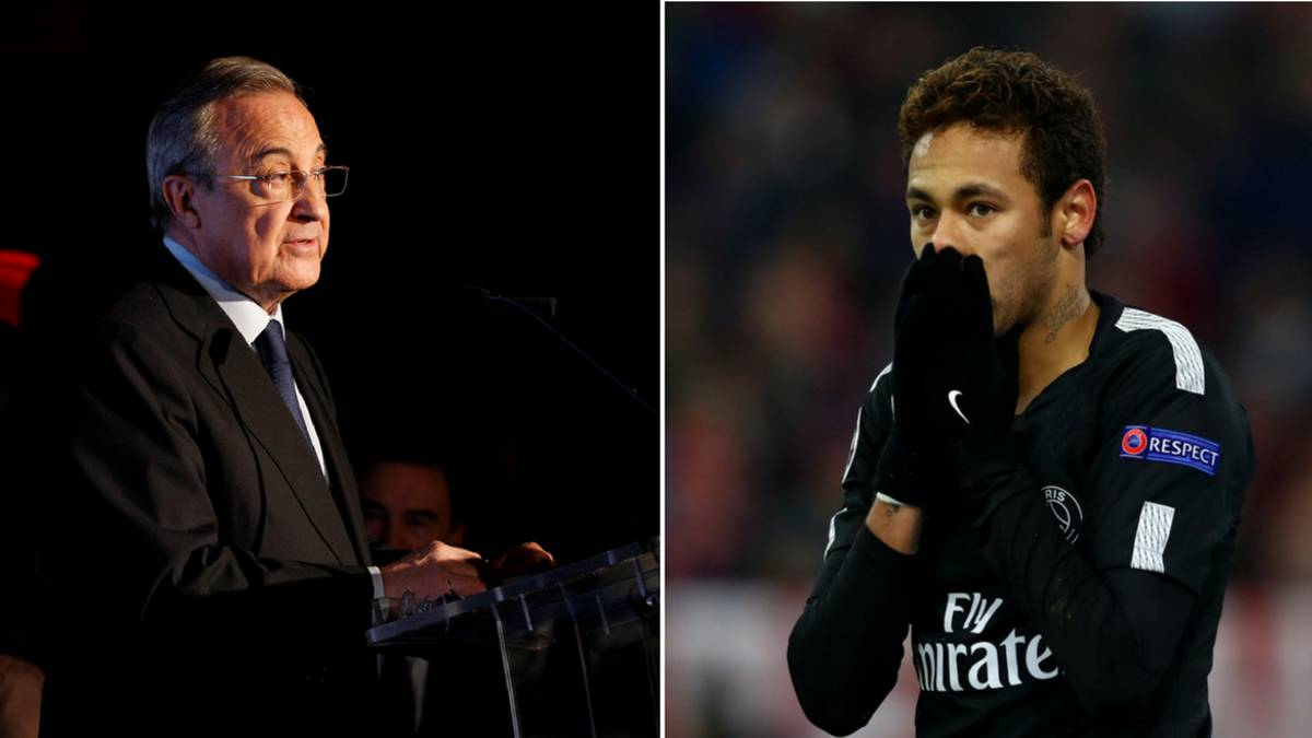 Florentino: Neymar would have a better chance of winning Ballon d'Or at Madrid
