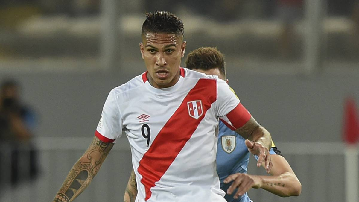 Peru's Guerrero out of World Cup after being given drugs ban