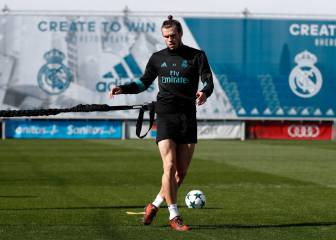 Bale trains with the group and Zidane calls up Manu Hernando