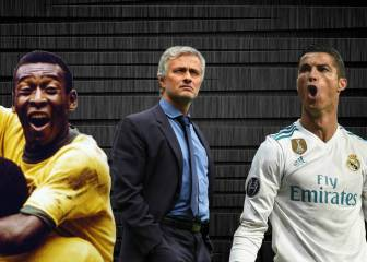 Mourinho puts Cristiano Ronaldo on a par with Pelé