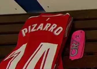 Sevilla's Pizarro explains use of Ronaldo-branded shinpads