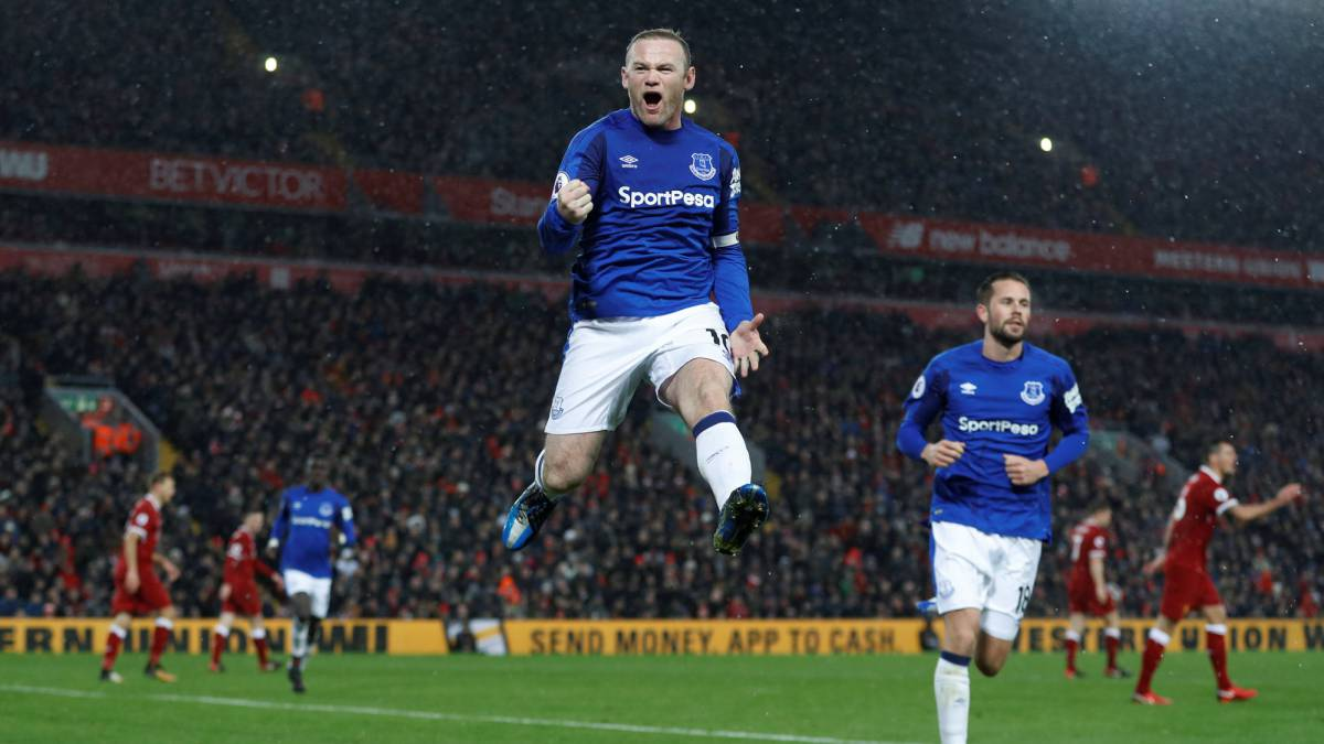 Rooney penalty steals point for Everton against Liverpool